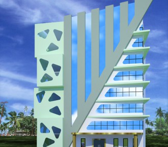 8 Storeyed Service Apartment